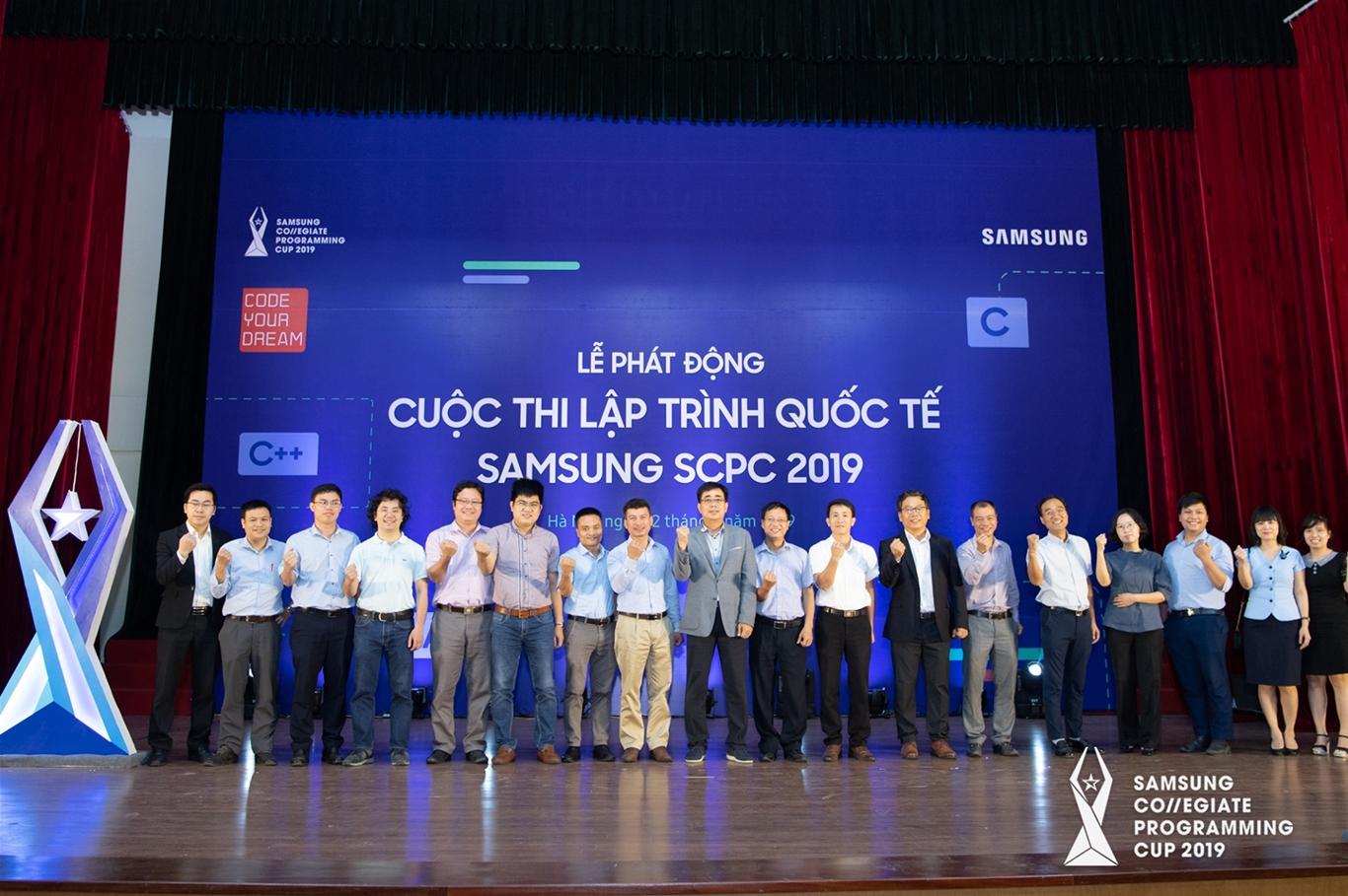 Lễ phát động cuộc thi Lập trình Quốc tế Samsung SCPC 2019
