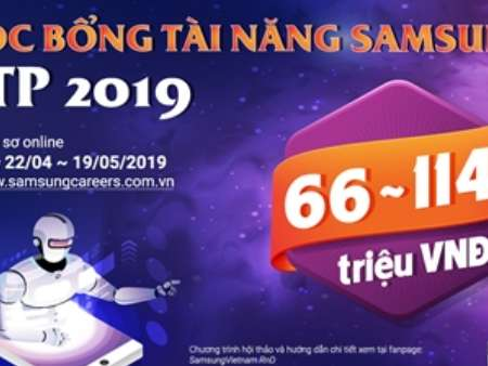 """Học bổng tài năng Samsung - STP 2019 """"DÁM THAY ĐỔI - DÁM DẪN ĐẦU"""""""