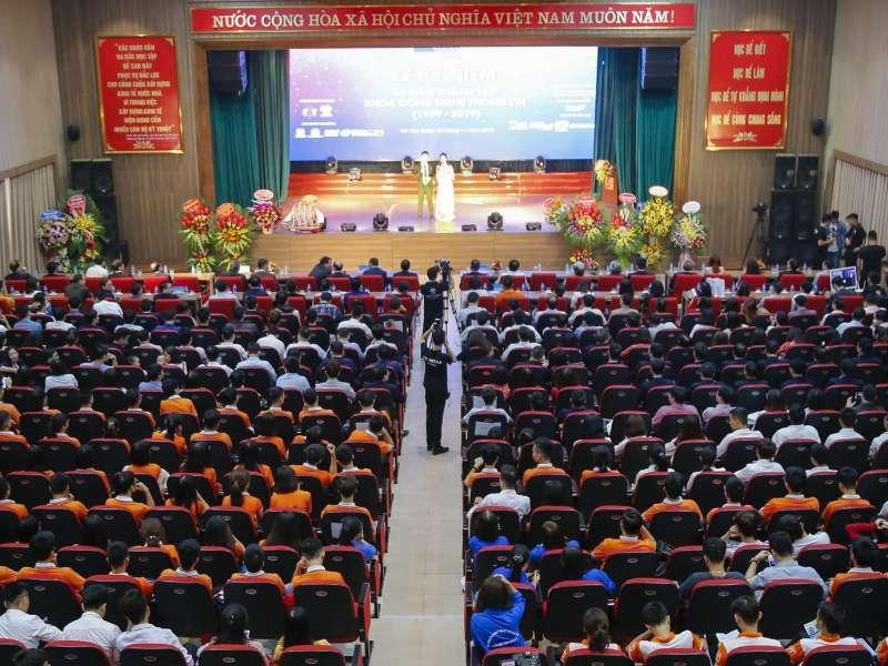Lễ kỉ niệm 20 năm thành lập khoa CNTT