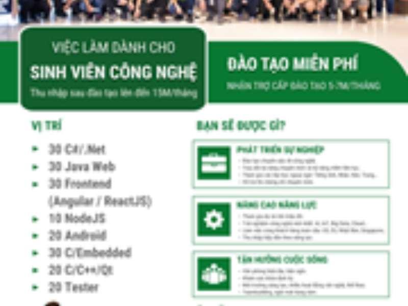 Công ty FPT Software tuyển dụng Fresher IT tại Hà Nội